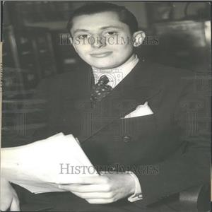 1937 Press Photo Lewis Gilbert, Minority Stockholder