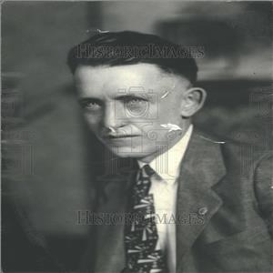 1933 Press Photo Ray Humphreys Attorney Earl Wetengel
