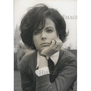 1966 Press Photo Italian actress Marilu Tolo Judoka Agent Secret