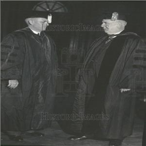 1933 Press Photo Harold Willis Dodds& Edward A Duffield