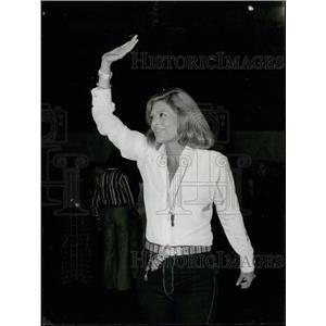 Press Photo Melina Mercouri,Greek Actress/ Politician