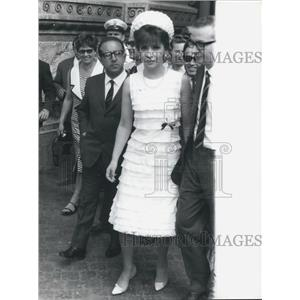 1965 Press Photo Italian actress Gina Lollobrigida