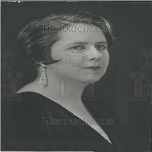 1933 Press Photo Am Assn Univ Women Music Chairman