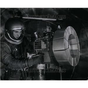 1961 Press Photo New plasma space engine