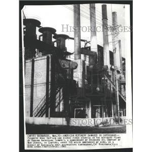 1940 Press Photo Bucharest Romania Earthquake Damage