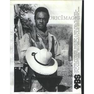 1978 Press Photo Glynn Turman Charlie Smith Fritter Tree Film - RSC84657