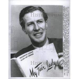 1957 Press Photo Irish Actor Edward Milhare - RSC83913