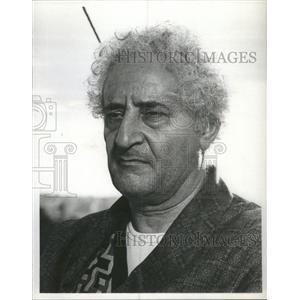 "1978 Press Photo Mario Scaccia ""The Word"" - RSC49723"
