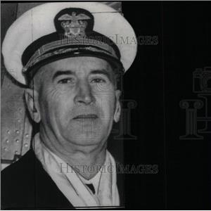 1941 Press Photo Atlantic Fleet Rear Admiral E.J. King - RRW78307