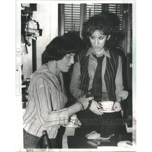 1978 Press Photo Anne DeSalvo Working - RSC70479