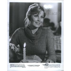 1980 Press Photo Actress Bo Derek Change Of Seasons Movie - RSC69991