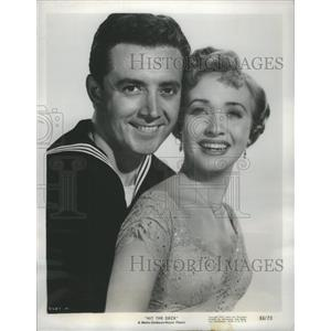 1955 Press Photo Vic damone Hit the deck - RSC70113