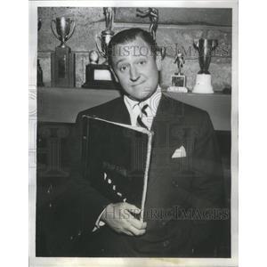 "1954 Press Photo Eddie Mayoff ""That's My Boy"" CBS - RSC80507"