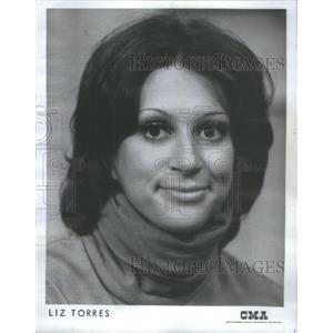 1973 Press Photo LIZ TORRES ACTRESS SINGER COMEDIENNE - RSC83861