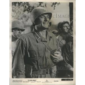 Press Photo Victor Mature The Glory Brigade Actor - RSC78075