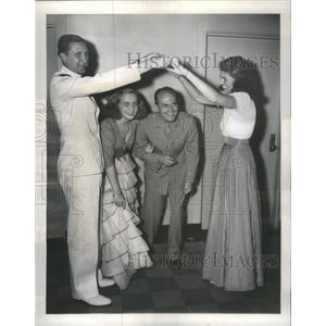 1945 Press Photo Margaret Truman Dancing At Pan American Unions's 55th Ann