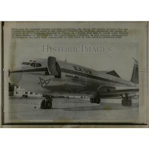 1968 Press Photo Algiers Airort Hijacked Dar El Beida - RRW04613
