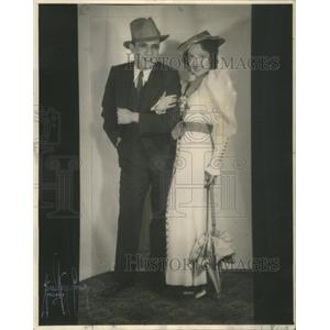 1934 Press Photo Actor Tom Patricola Dorothy Dare Hold Your Horses - RSC69263