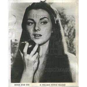 1958 Press Photo Christiane Martel Adam And Eve Film Actress - RSC79841