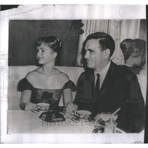1959 Press Photo Debbie Reynolds Actress - RSC52079
