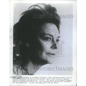 1977 Press Photo Irene Worth Featured Flannery O'Connor's The Displaced Person