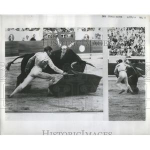 1959 Press Photo DOMINGUIN BULLFIGHTER SPAIN - RSC67993