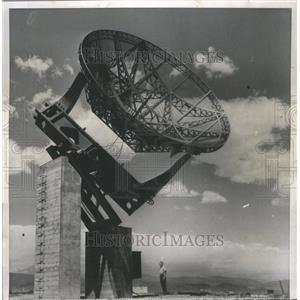 1957 Press Photo Telescope Boulder Laboratories Track