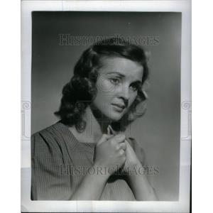 1940 Press Photo Dorris Bowdon Rosasharn Film Actress - RRU19603