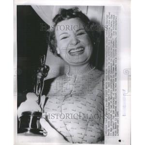 1953 Press Photo Shirley Booth American Theatre Actress