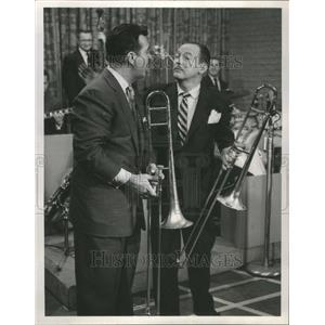 1956 Press Photo Jack Bailey/TV Game Show Host/Actor - RRU03019