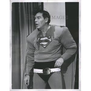 1968 Press Photo Milton Berle American comedian Actor