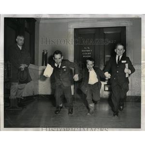1962 Press Photo Building Federal Citizenship Hammer - RRW55439