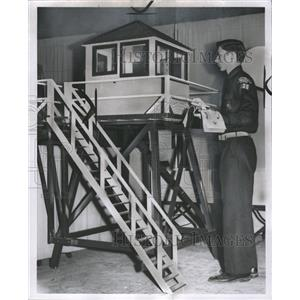 1956 Press Photo Boyscouts Set Expositions - RRW33219