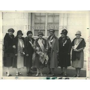 1923 Press Photo American Revolution prominent women - RRX81159