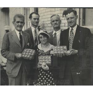 1931 Press Photo Bonfils Colorado Poultry Egg Producers - RRX83193