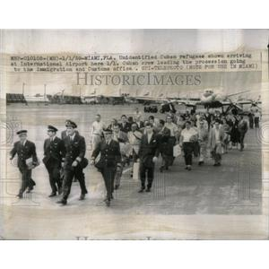 1962 Press Photo Refugee International Airport - RRX02451