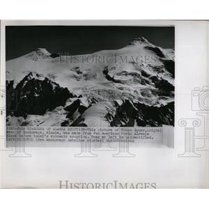 1953 Press Photo Mt. Spurr, Alaska Before Eruption - RRX79265