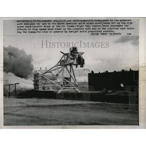 1958 Press Photo North American built space craft glad - RRW67195