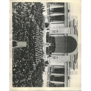 1931 Press Photo Hugh Crowd Amphitheater- Arlington - RRX93283