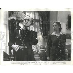 "1949 Press PhotoWalter Rilla - Valerie Hobson ""Adventure of Tartu"" - RSC53153"