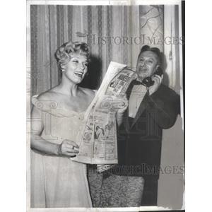 1958 Press Photo Denise Darcel - RSC69161