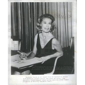 "1967 Press Photo Dina Merrill will star on Broadway's ""The Warm Body"""