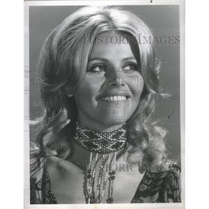 1978 Press Photo Britt Ekland All Smiles For Camera - RSC61501