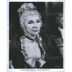 1970 Press Photo Actress Anna Massey - RSC81147