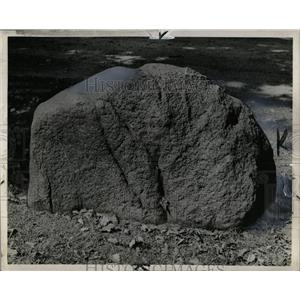 1938 Press Photo Boulder from Glacier - RRX63875