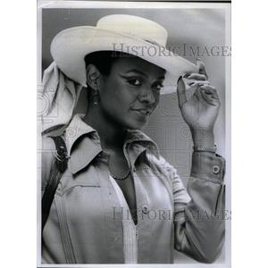 1973 Press Photo Tamara Dobson American Actress model - RRX26647