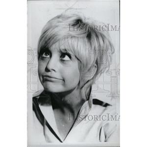 1969 Press Photo Goldie Hawn American Film Actress - RRW72157