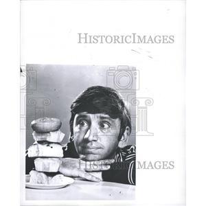 1968 Press Photo Robert Osbourne Denver Comedy Actor - RRW31433