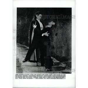 1999 Press Photo Bela Lugosi Hungarian Stage Film Actor - RRW79397