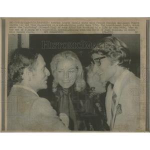 1969 Press Photo LAUREN BACALL AMERICAN FILM STAGE ACTRESS MODEL PIERRE YVES